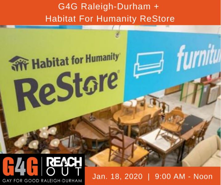 Volunteer at Habitat for Humanity's ReStore in Durham