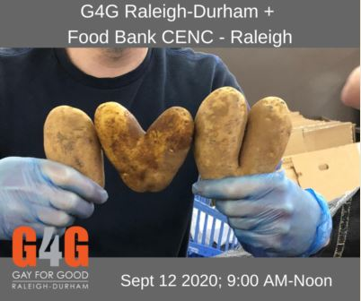 Volunteer at Raleigh branch of the Food Bank of C&E NC