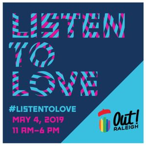 outraleigh2019 Listen to Love