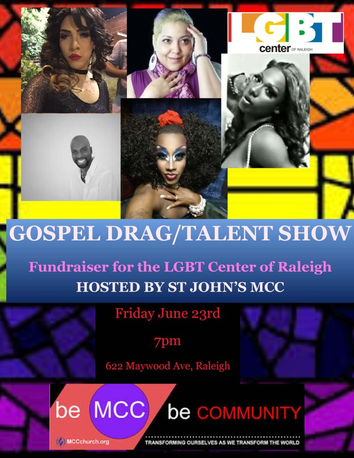 Gospel Drag and Talent Show 2017