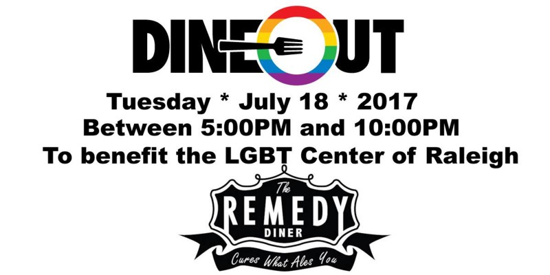 DineOut The Remedy Diner 2017