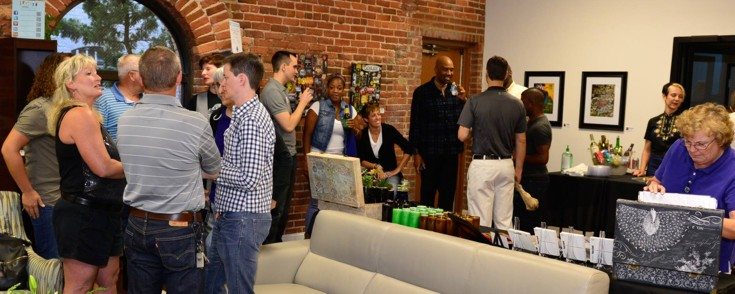 LGBT Center of Raleigh First Friday Art Series