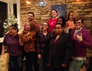 Alliance Staff gathers for Holiday Fun