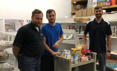 Community Brings Food for the Pantry