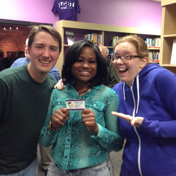 600th LGBT Center library card issued in February 2014