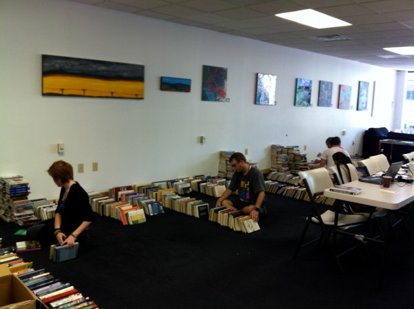 Initial Sorting of Donated Books