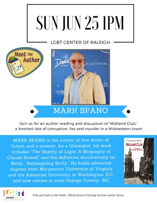 Meet the Author Mark Spano