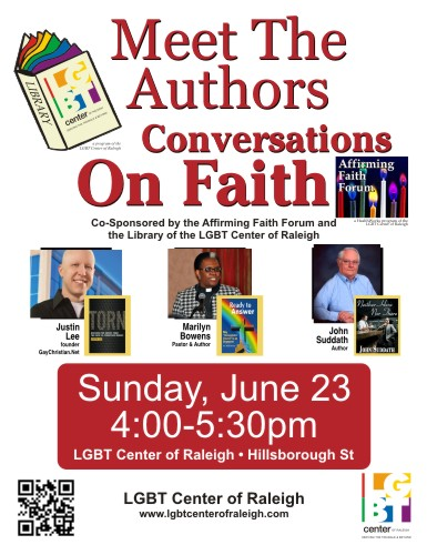 Meet the Authors: Conversations on Faith - June 2013
