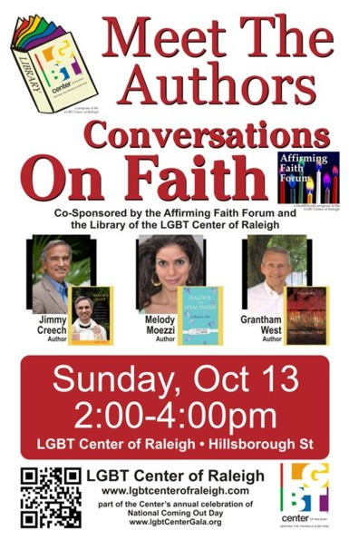 Meet the Authors Conversations on Faith: October 2013