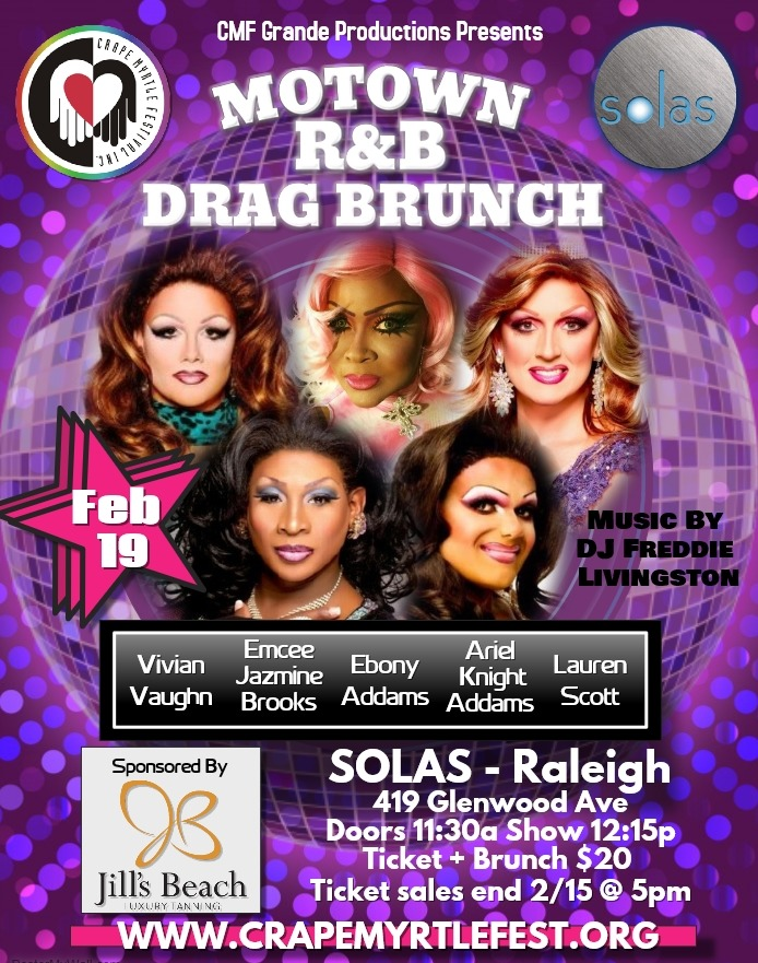 February 2017 Drag Brunch
