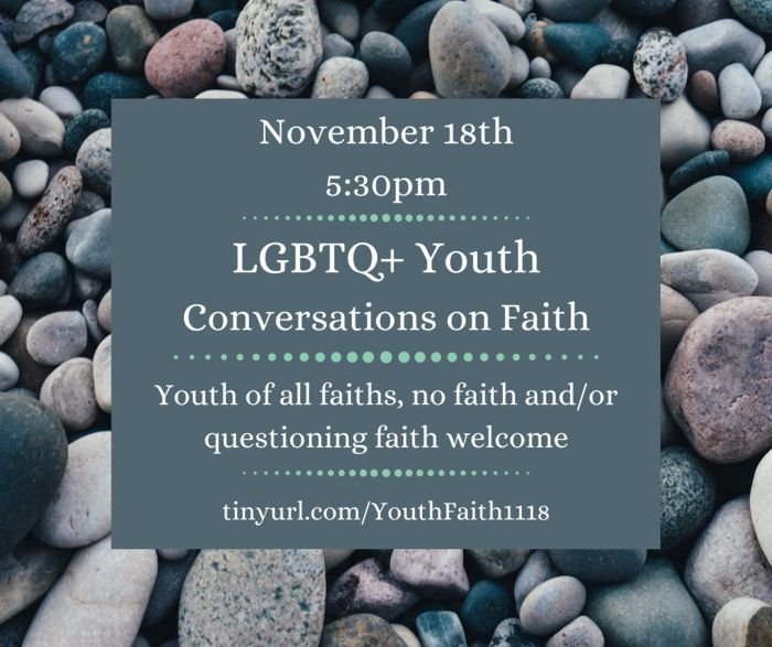 LGBTQ+ Youth Discussion on Faith